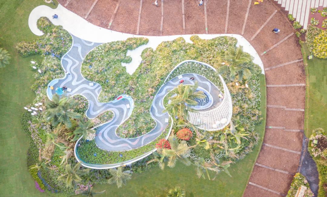 2020深圳簕杜鹃花展精品花园盐田园—风与浪的交织·奏响海之乐章(图2)